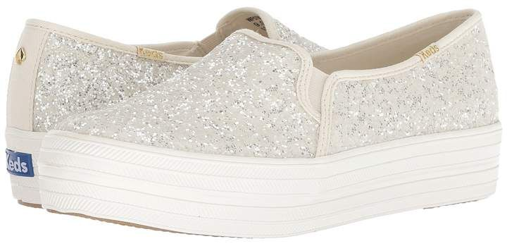 baa3a9a1a9c8 Keds x kate spade new york Bridal Triple Decker Glitter Women s Shoes