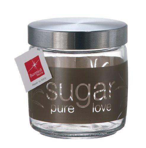 Bormioli Rocco Giara Natural Sugar Jar With Lid 25 1 2 Ounce By Bormioli Rocco Glass Co Inc 17 89 Superior Res Bormioli Rocco Clear Glass Jars Sugar Jar