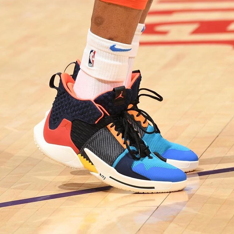 """efdaaa7813a The Debut.  russwest44 in the Jordan Why Not Zer0.2 """"Future History ..."""