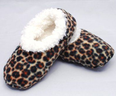 womens leopard print slippers