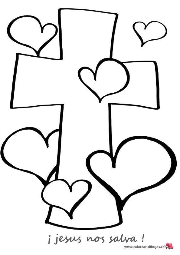 Resultado de imagen para cruz de jesus para niños | ingles ...