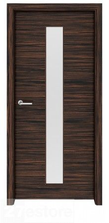Ebony Macassar Wood Interior Door Greenwich Is Dense And Durable, And  Highly Resistant To Moisture #doors #ebony #interior