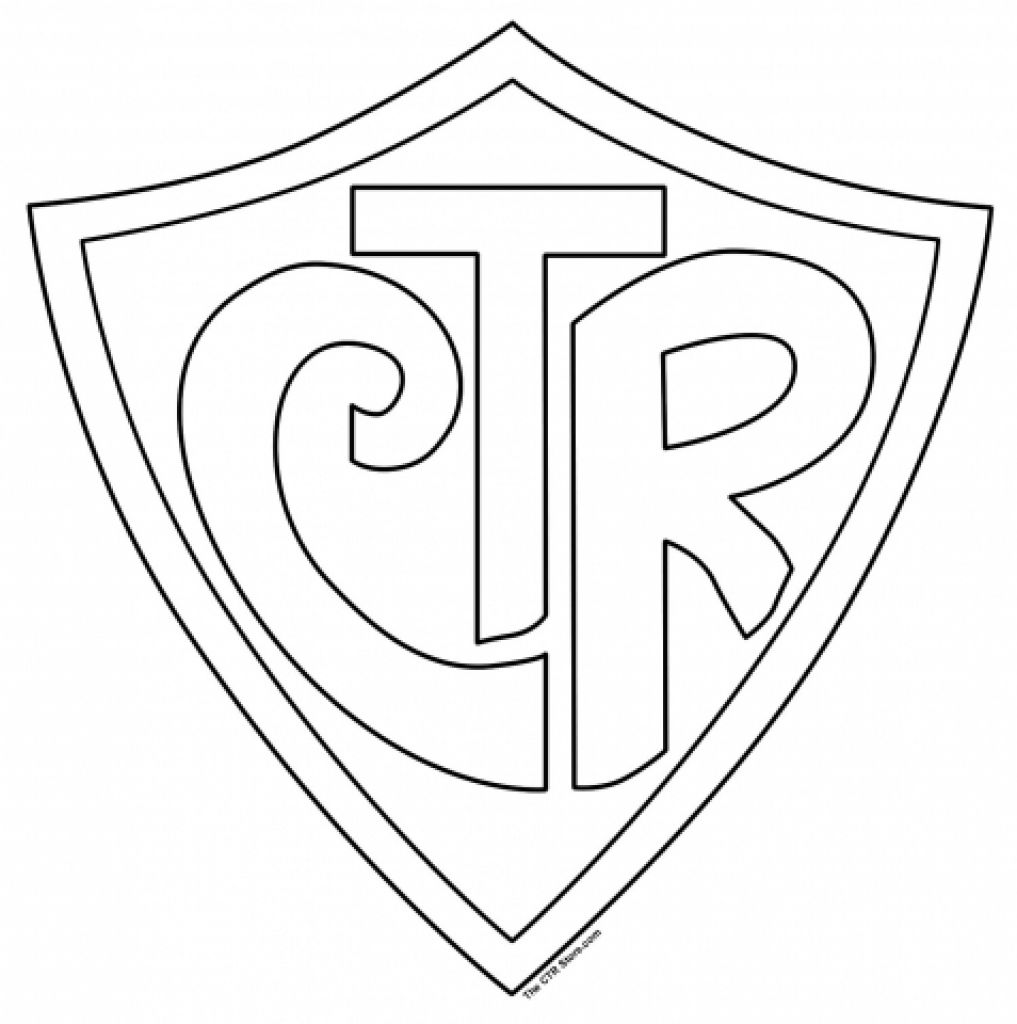 Ctr Shield Coloring Page intended to Motivate in coloring