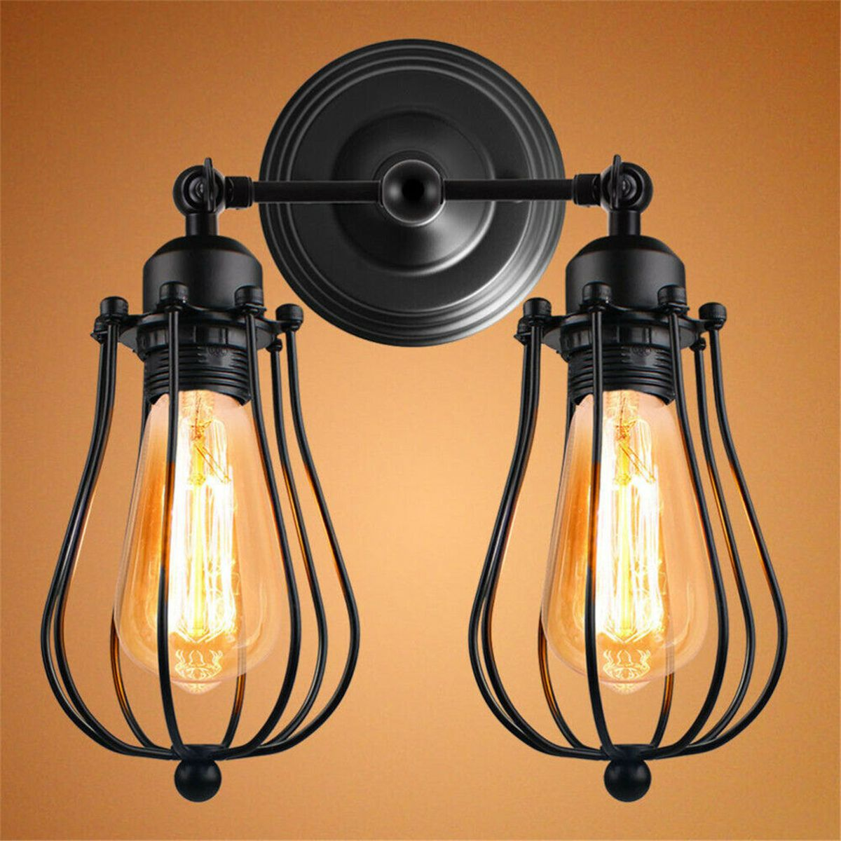 Home in 2020 Wall sconce lighting, Cage wall lights