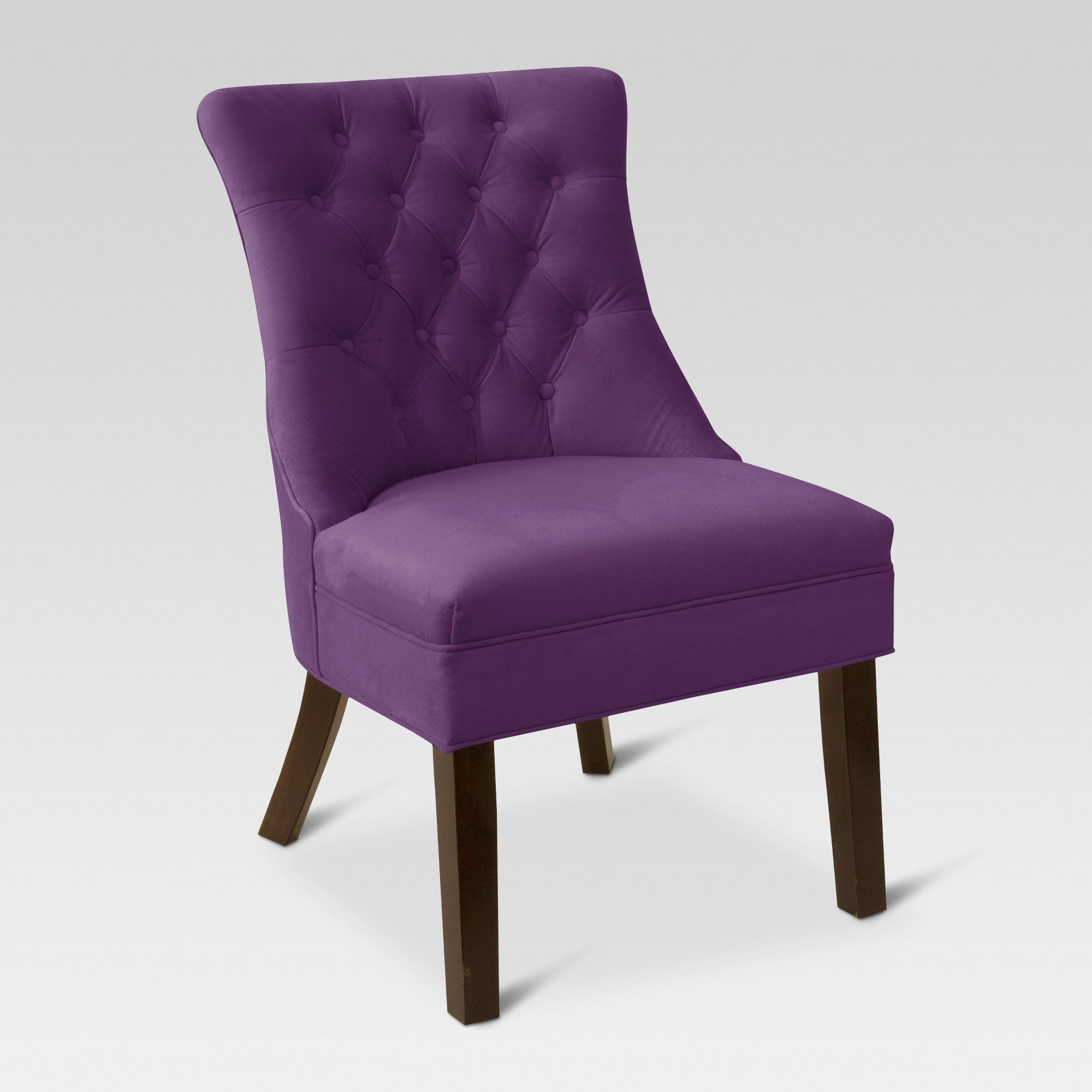Accent Chairs Purple Threshold Velvet Aubergine In 2019 Ac