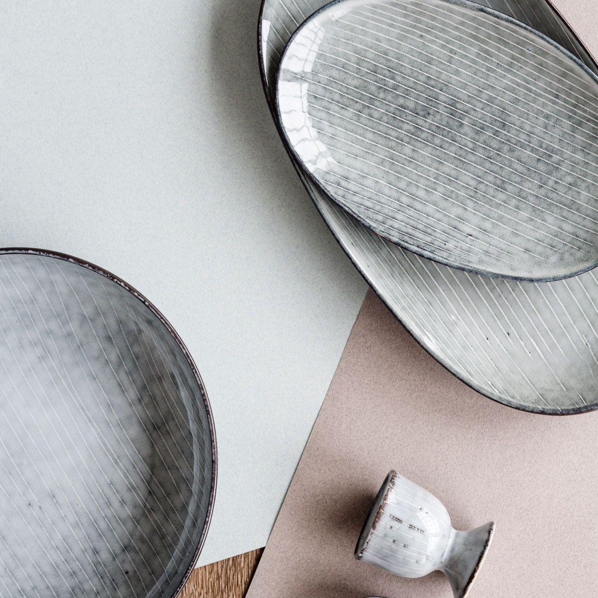 tolles tafelgeschirr von broste copenhagen tabelware brostecph ste geschirr aus steingut. Black Bedroom Furniture Sets. Home Design Ideas
