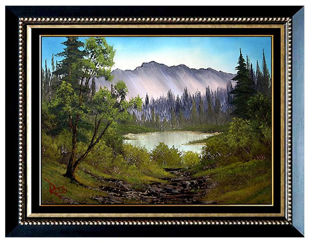This Bob Ross Original Is For Sale On Ebay For Over 8000 Bob