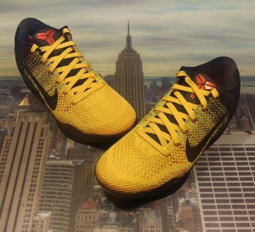 19b46697ecbe Nike Kobe XI 11 Elite Low Bruce Lee Warrior Spirit Size 8 X 10 IX 9 822675  706