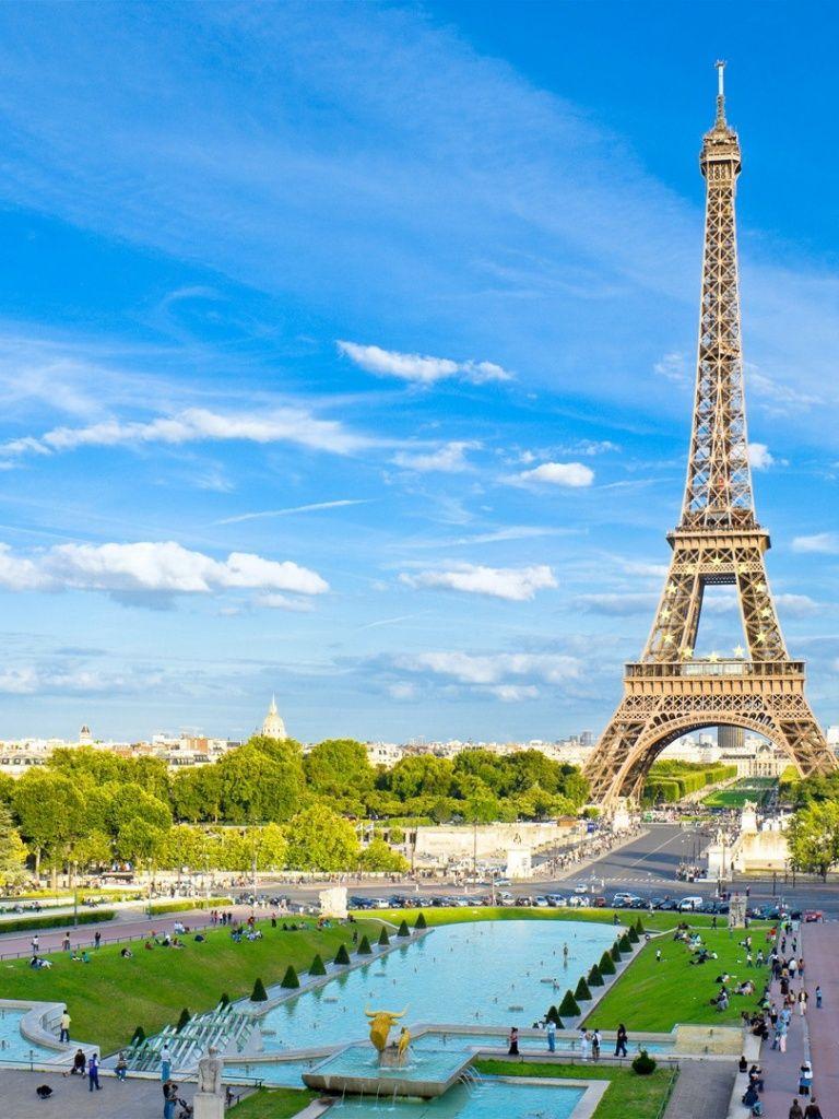 768x1024 Eiffel Tower Two Ipad Mini Wallpaper
