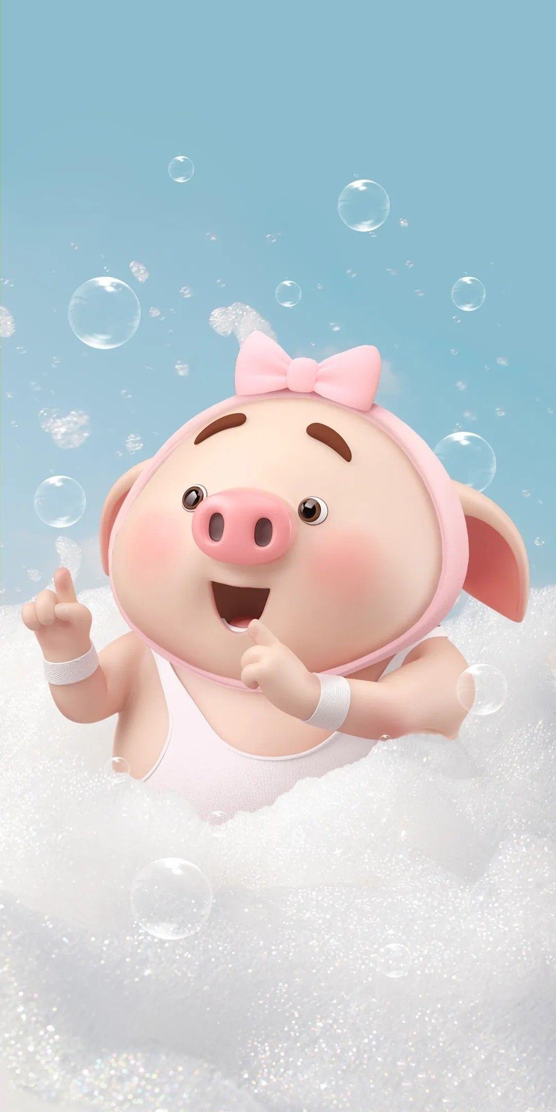 Pig ว ยเด ก หม วอลเปเปอร