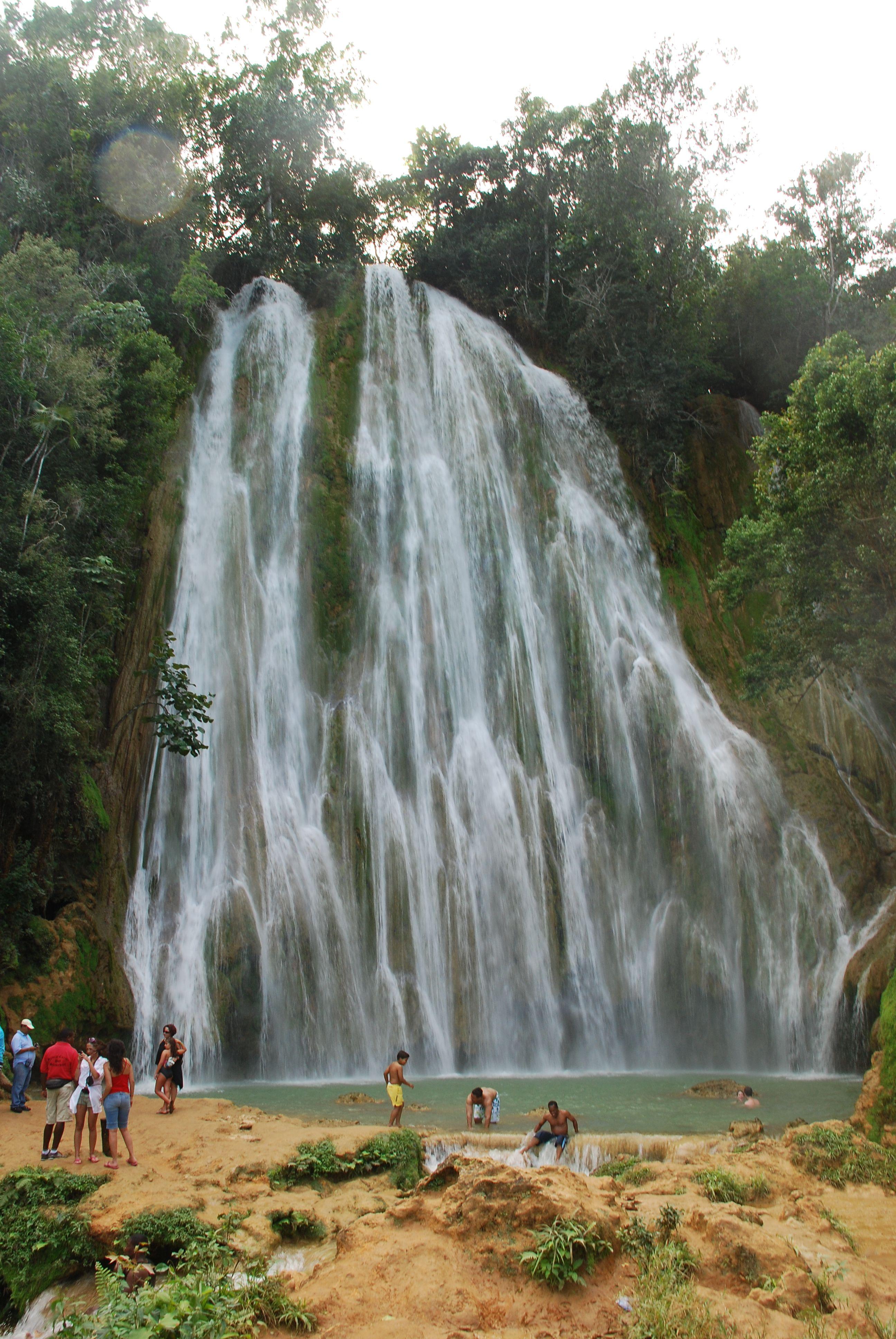Dominican Republic waterfall Dominican Republic waterfall