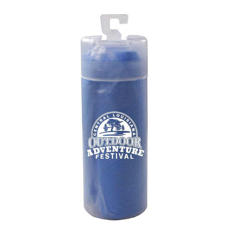 Cooling Towel With Tube Cooling Towels Towel Water Bottle