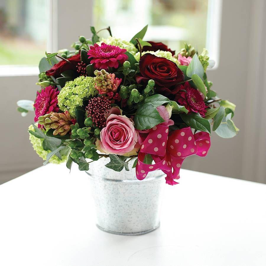 Buckets of love tin buckets fresh flowers and flower buckets of love izmirmasajfo Gallery