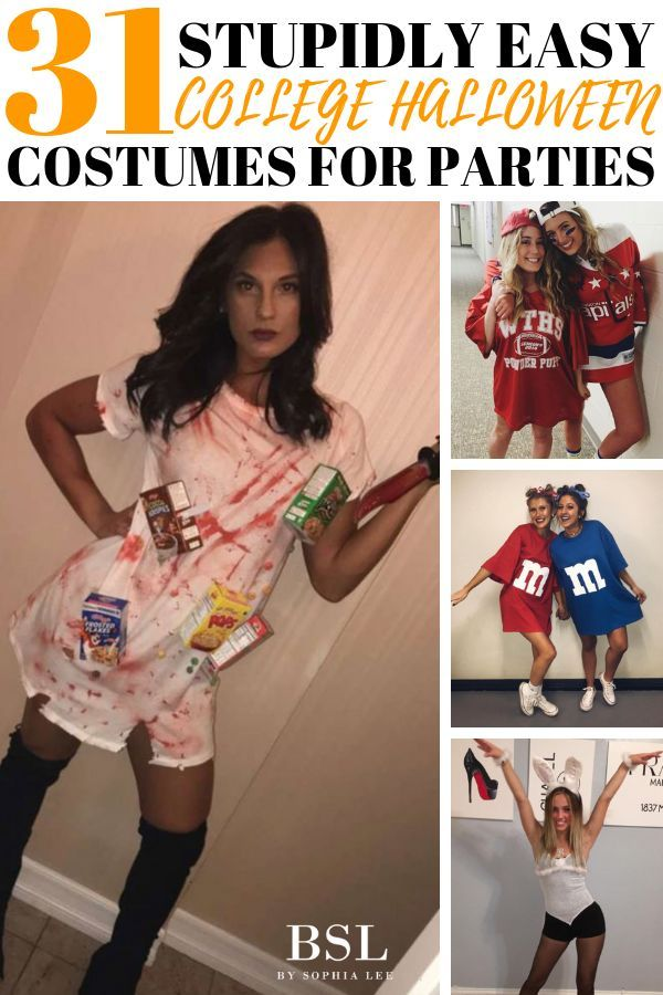 31 Really Cheap College Halloween Costume Ideas That You NEED To See – By Sophia Lee