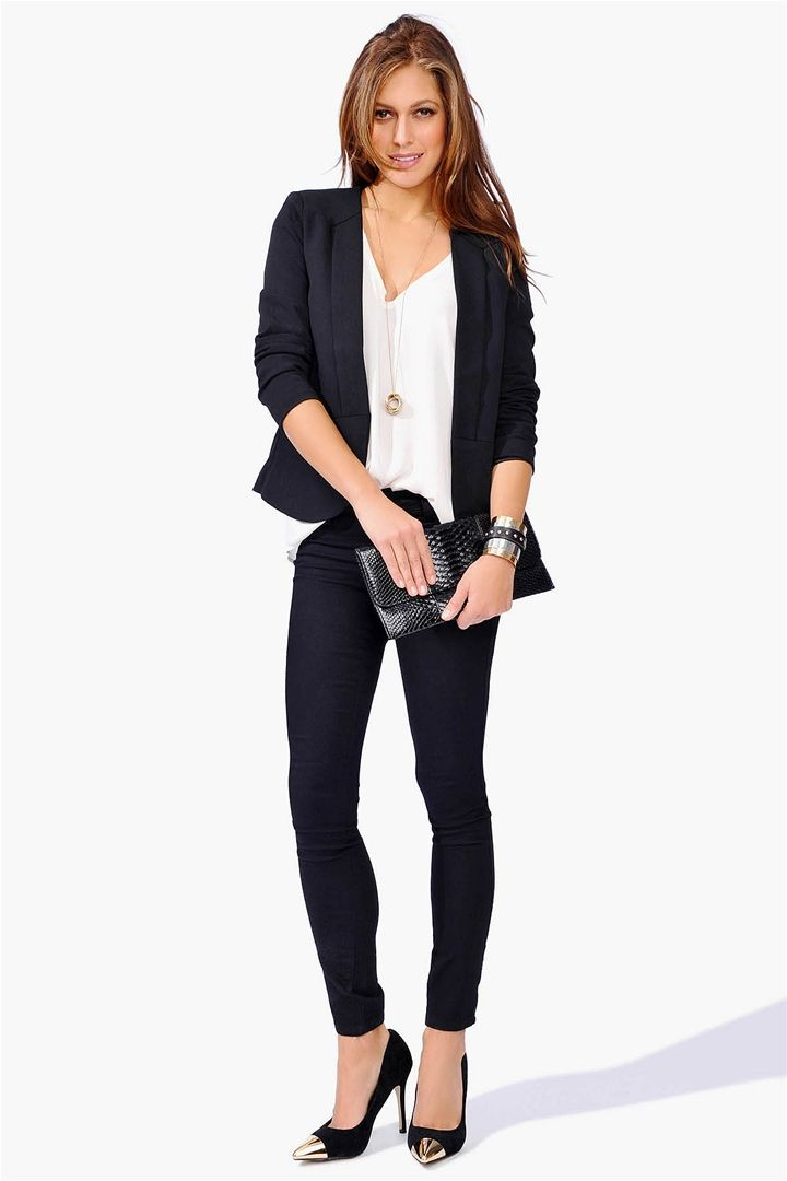 business attire blazer black clothes pinterest business attire blazers and business. Black Bedroom Furniture Sets. Home Design Ideas