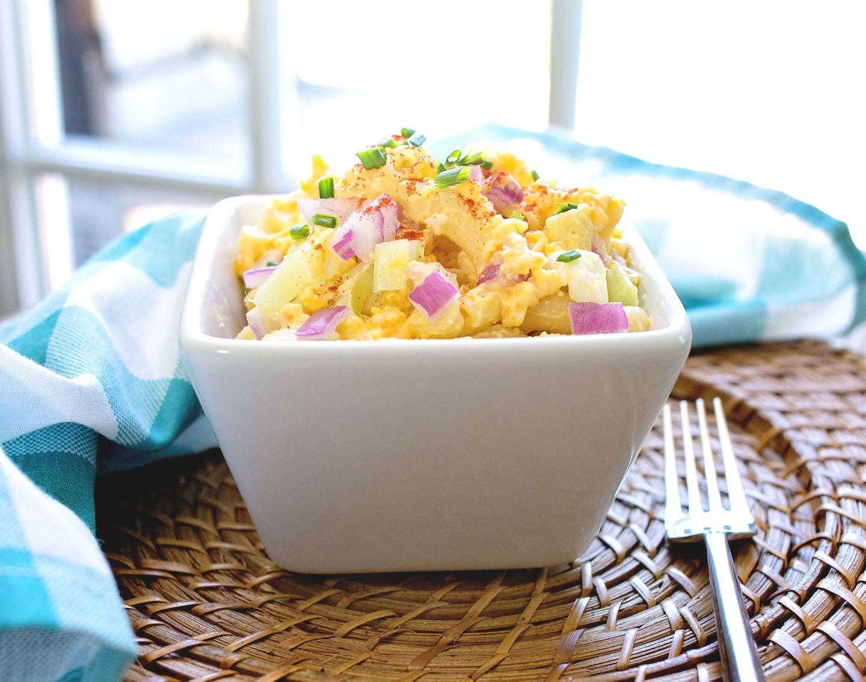 Deviled Egg Pasta Salad | Nellie's Free Range Eggs ...