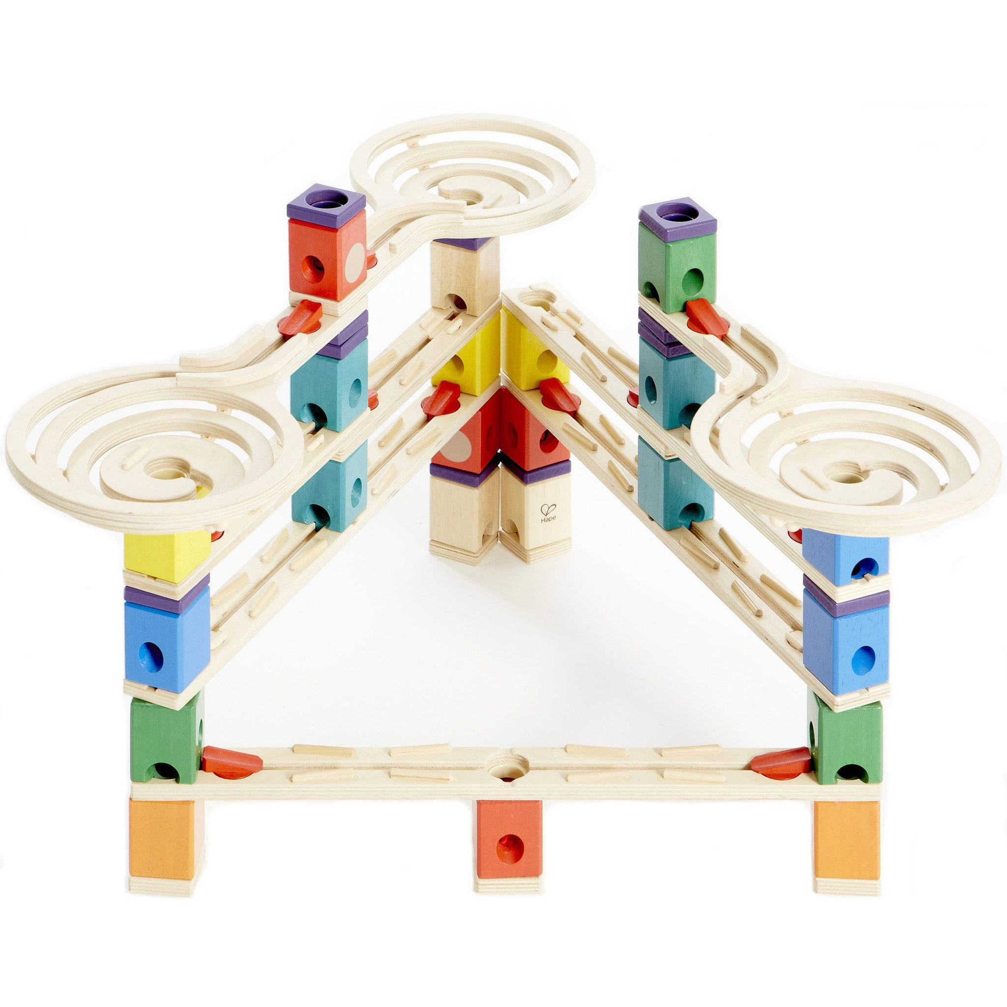 Hape Quadrilla Whirlwind Marble Run Wooden Game Toy Play Set Replacement Parts