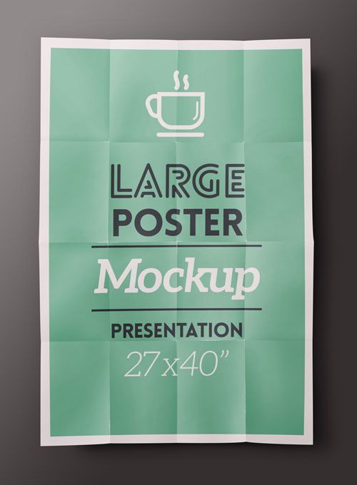 Pixeden - Psd Poster Mockup Presentation Vol1