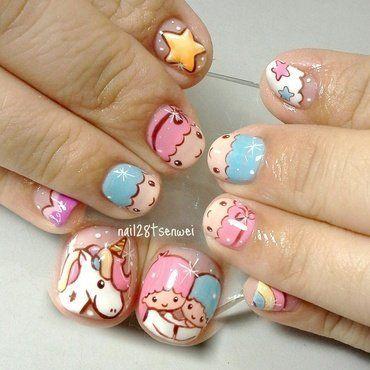 Nailpolis Museum Of Nail Art Kawaii Nail Art Hello Kitty Nails Art Girls Nail Designs