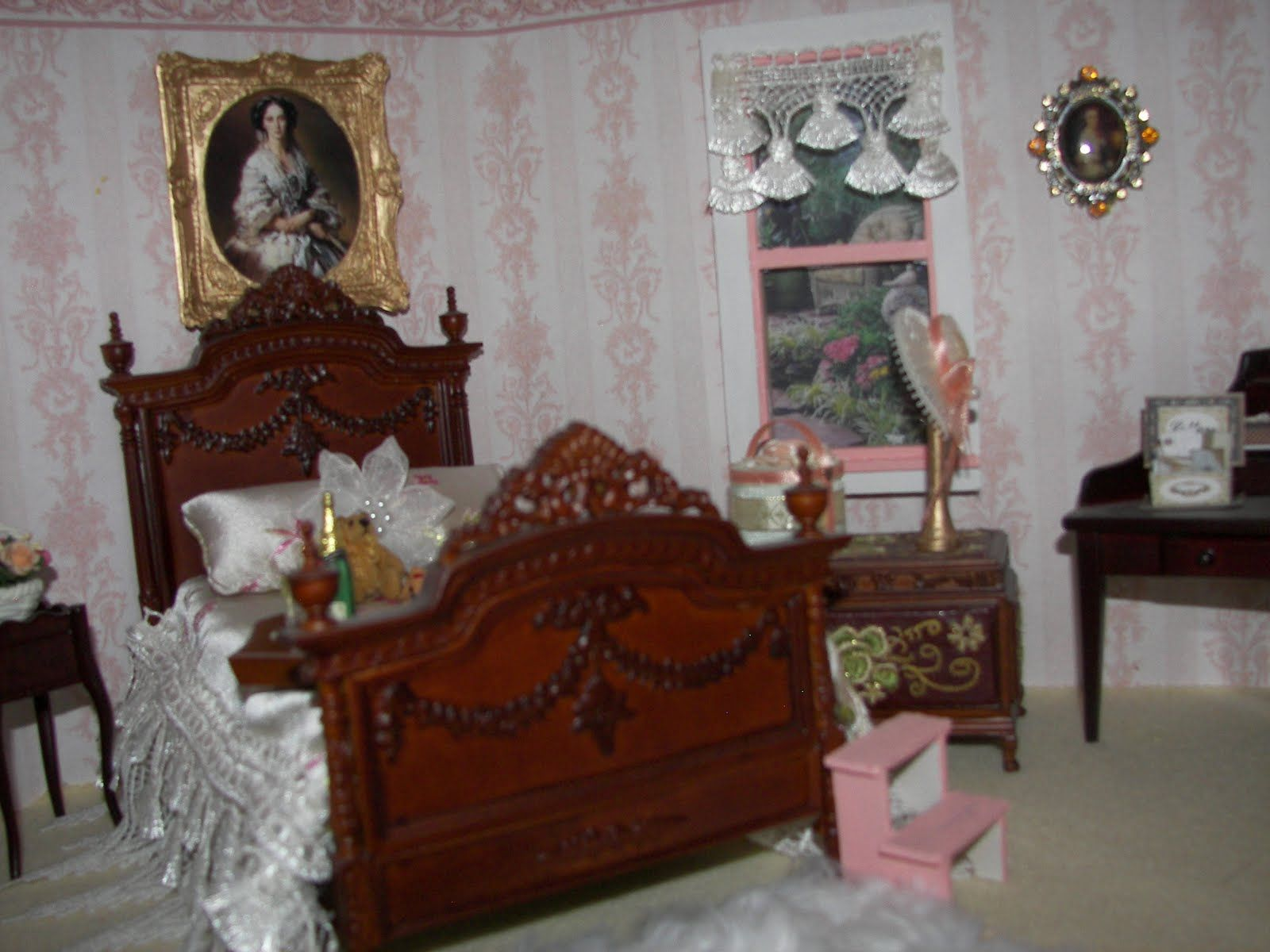 Victorian Bedroom Photos Dollhouse Homeowner Victorian