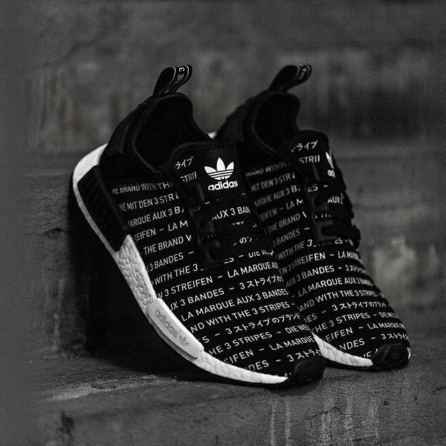 adidas Originals NMD R1 Blackout