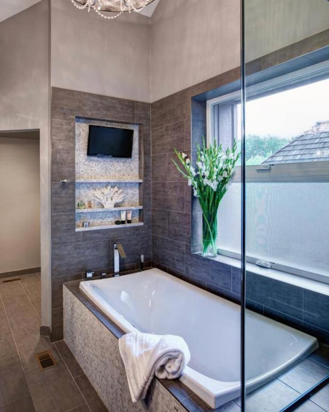 bathroom in a day. A Relaxing Hot Bath And Your Favorite TV Show Would Be Nice Way To End · Master BathroomsLuxurious BathroomsIn Bathroom In Day