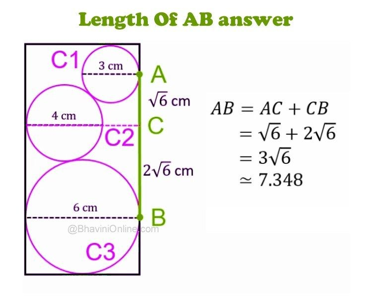 Whatsapp Riddle What Is The Length Of Ab Bhavinionline Com