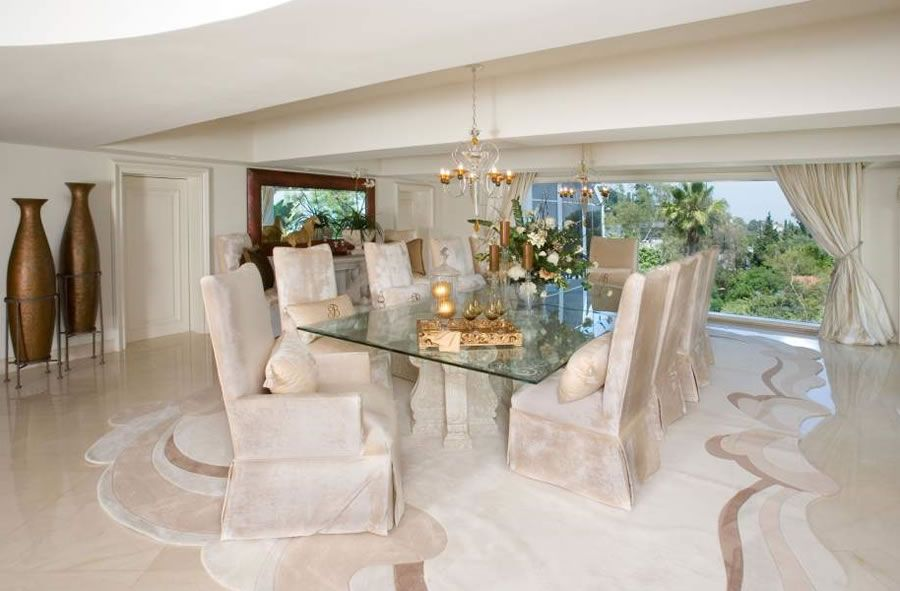 Nice Dining Room Luxury Dream Home Interior Design Ideas Envision Los Angeles