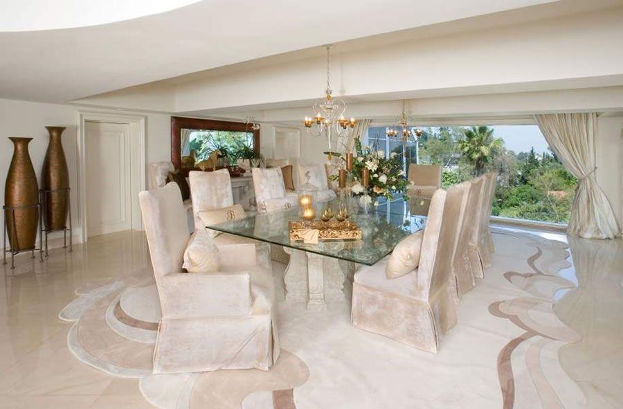 Dream Luxury Dining Room Furniture Photo