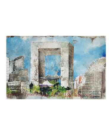 Look at this #zulilyfind! Alberto De Serafino Print Wrapped Canvas #zulilyfinds