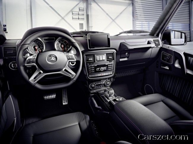 The Updated 2018 2019 Mercedes Benz G Class Has Received A Ruble
