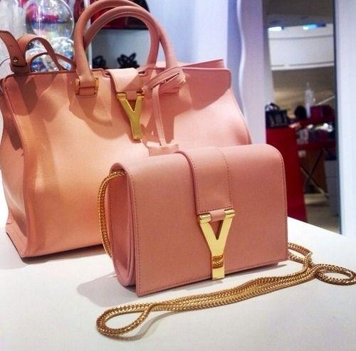 Salmon pink YSL | Handbags | Pinterest | Bag, Shoe bag and Yves ...
