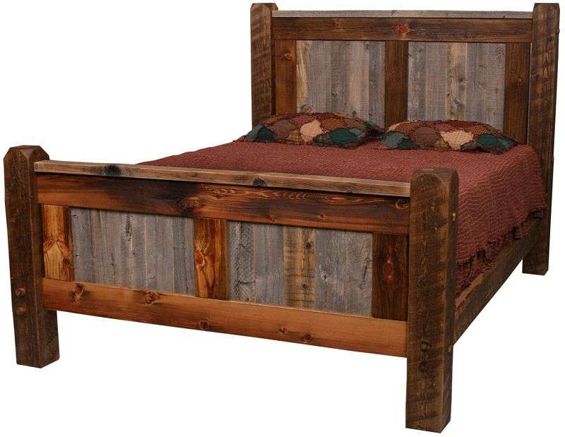 barnwood furniture | niks bedroom | Pinterest | Camas, Carpinteria y ...