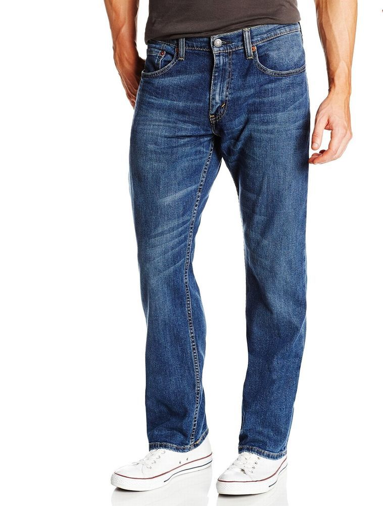 2c18c9f4ed96b4 Levis 559 Relaxed Straight Denim Jeans 58 x 30 Steely Blue 01559-0058 58x30  #Levis #ClassicStraightLeg