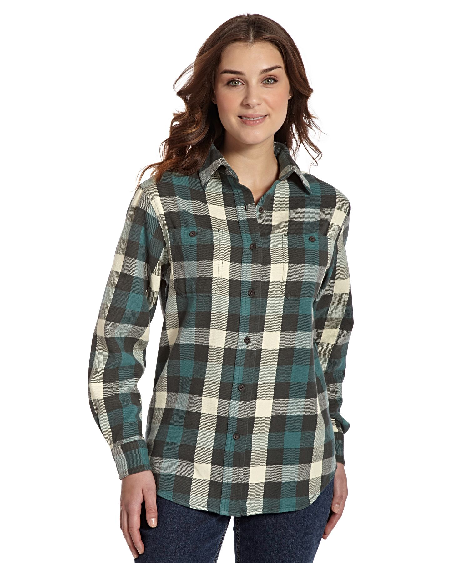 Flannel jacket with wool lining  Womenus Buffalo Check Flannel Shirt  To Wear  Pinterest  Flannels