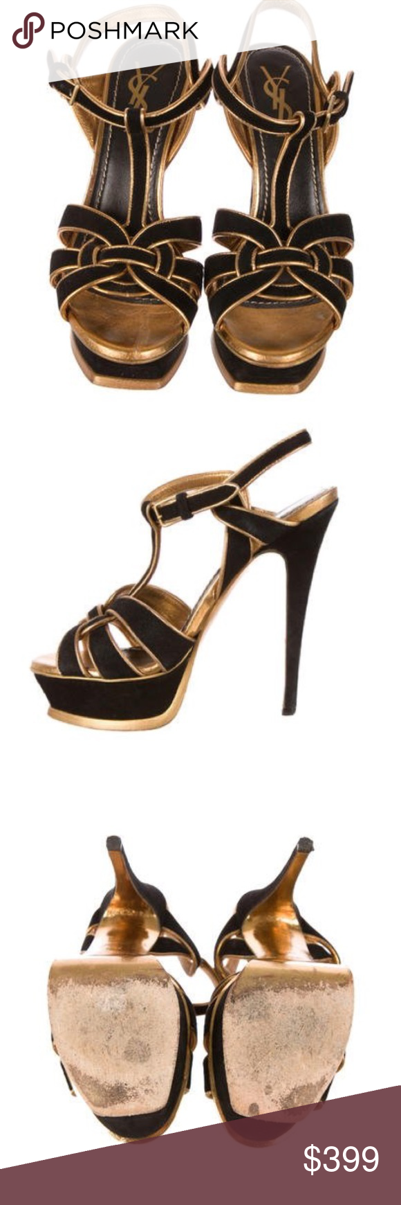 c26a2969a79 1Day SALE! AUTHENTIC YSL tribute sandal! Pre-😍 D The YSL tribute is ...