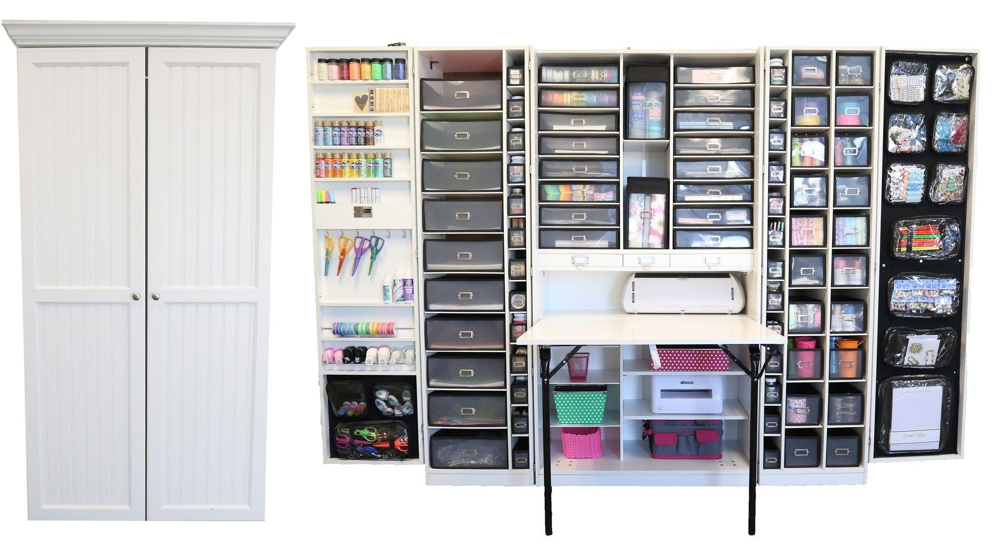 Craft Storage Cabinet Furniture 42 With