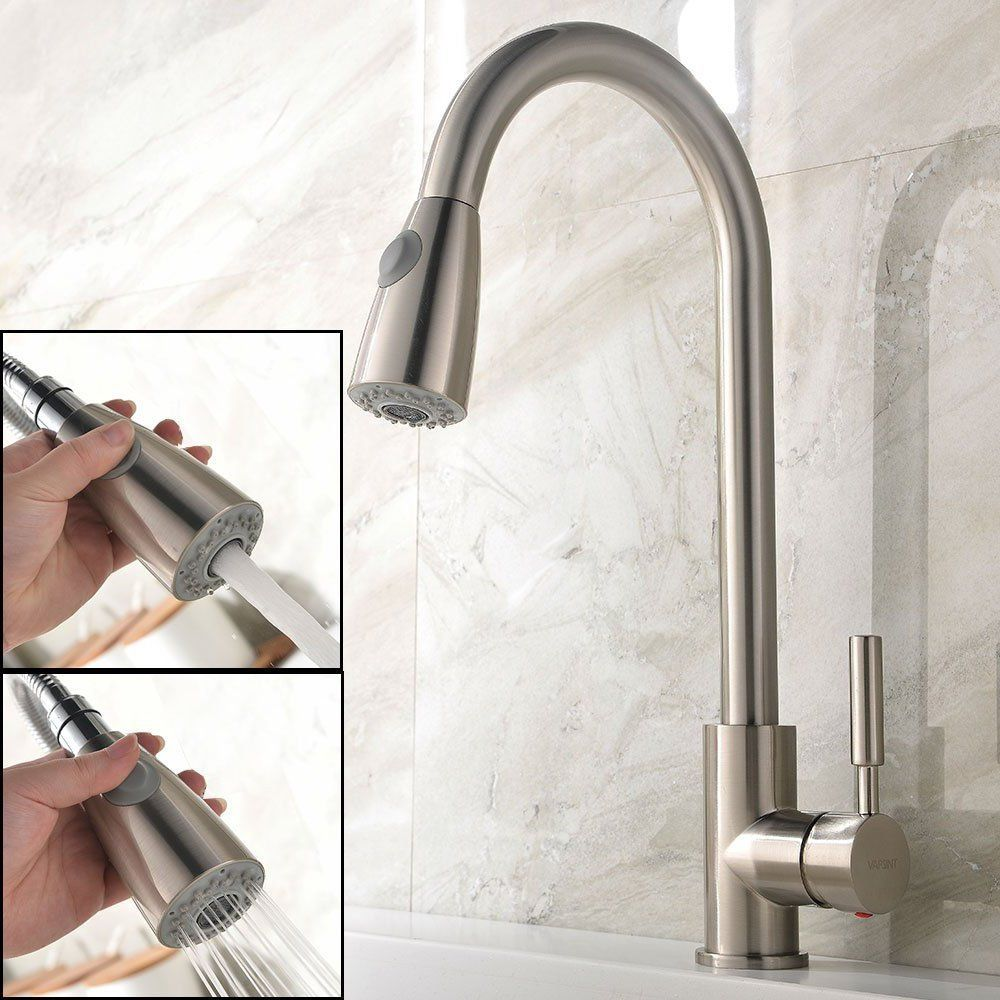 Free Shipping Chrome Finish Replacement Kitchen Faucet Spray Head ...