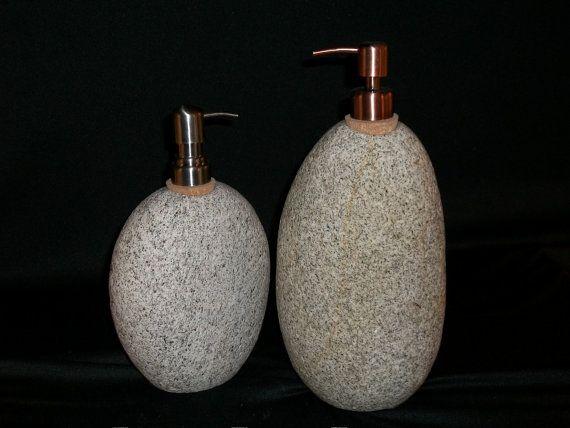 Copper Color Skull Pump Dispenser For Liquid Soap By Texasceramics