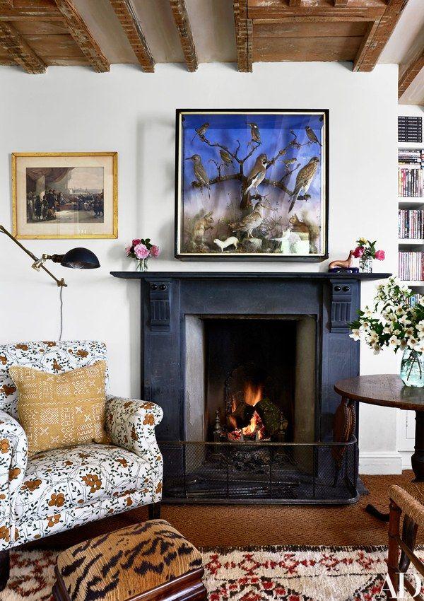 amanda brooks invites us inside her dreamy english country home rh pinterest com