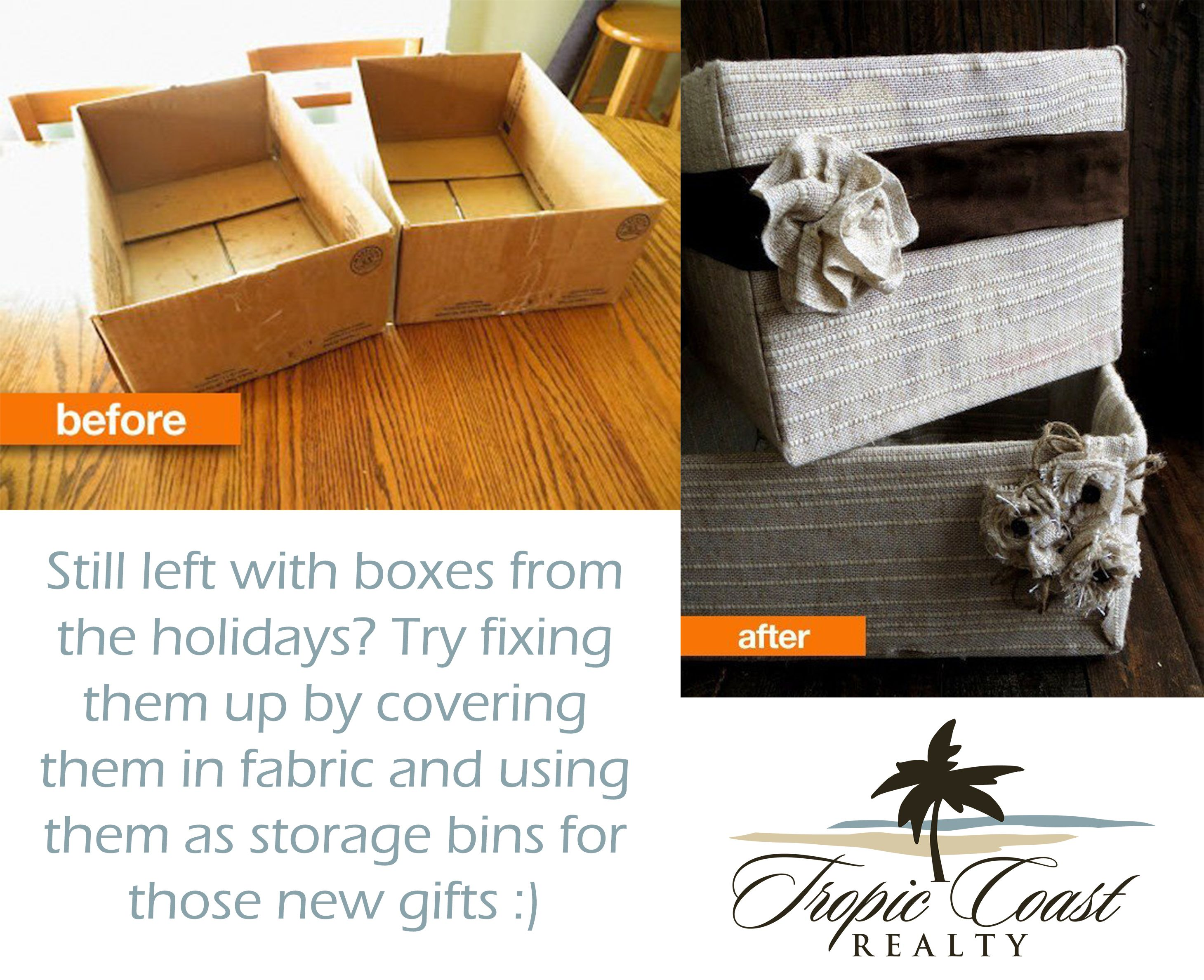 Have any cardboard boxes lying around? #upcycle