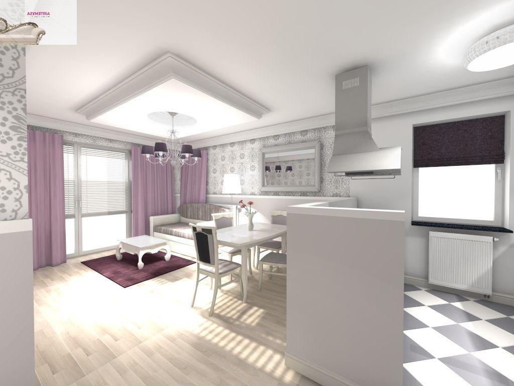 Asymetria Projektowanie Wnetrz Architektura Wnetrz Aranzacja Wnetrz Salon Z Jadalnia 25m2 Wizualizacja Projektu Home Decor Home Decor