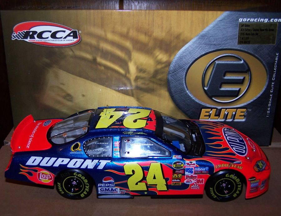 2005 1 24 rcca elite jeff gordon 24 dupont daytona 500 win raced rh pinterest com