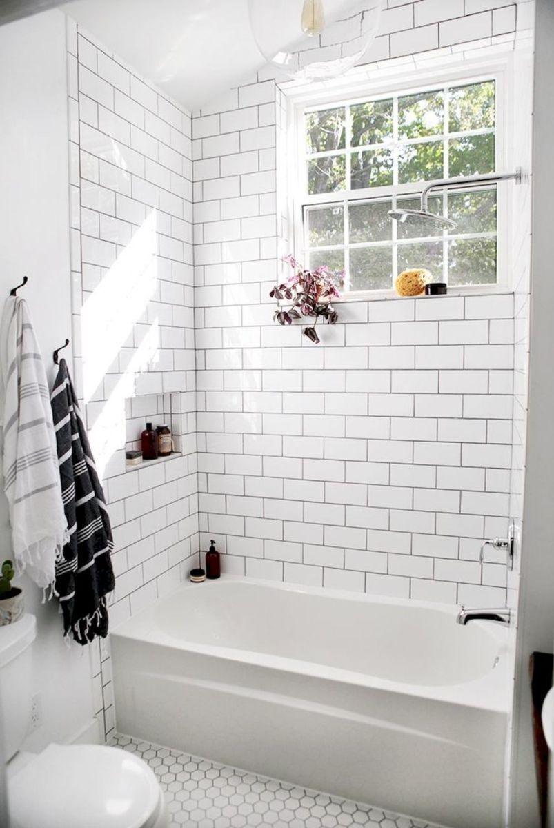 100 best farmhouse bathroom tile shower decor ideas and remodel to rh pinterest com