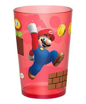 Red Mario 14.5-Oz. Tumbler by Super Mario Bros. #zulily #zulilyfinds