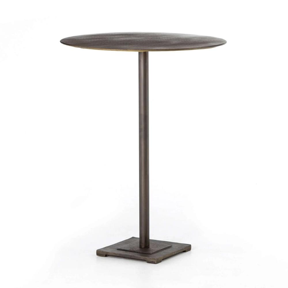 Fannin Bar Table Aged Brass Bar Table Modern Dining Room Tables Modern Dining Room
