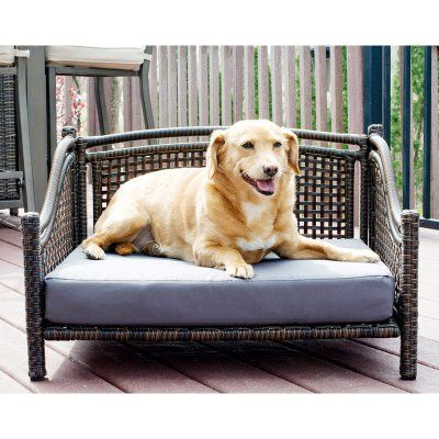 iconic pet maharaja rattan indoor outdoor pet day bed products rh pinterest at