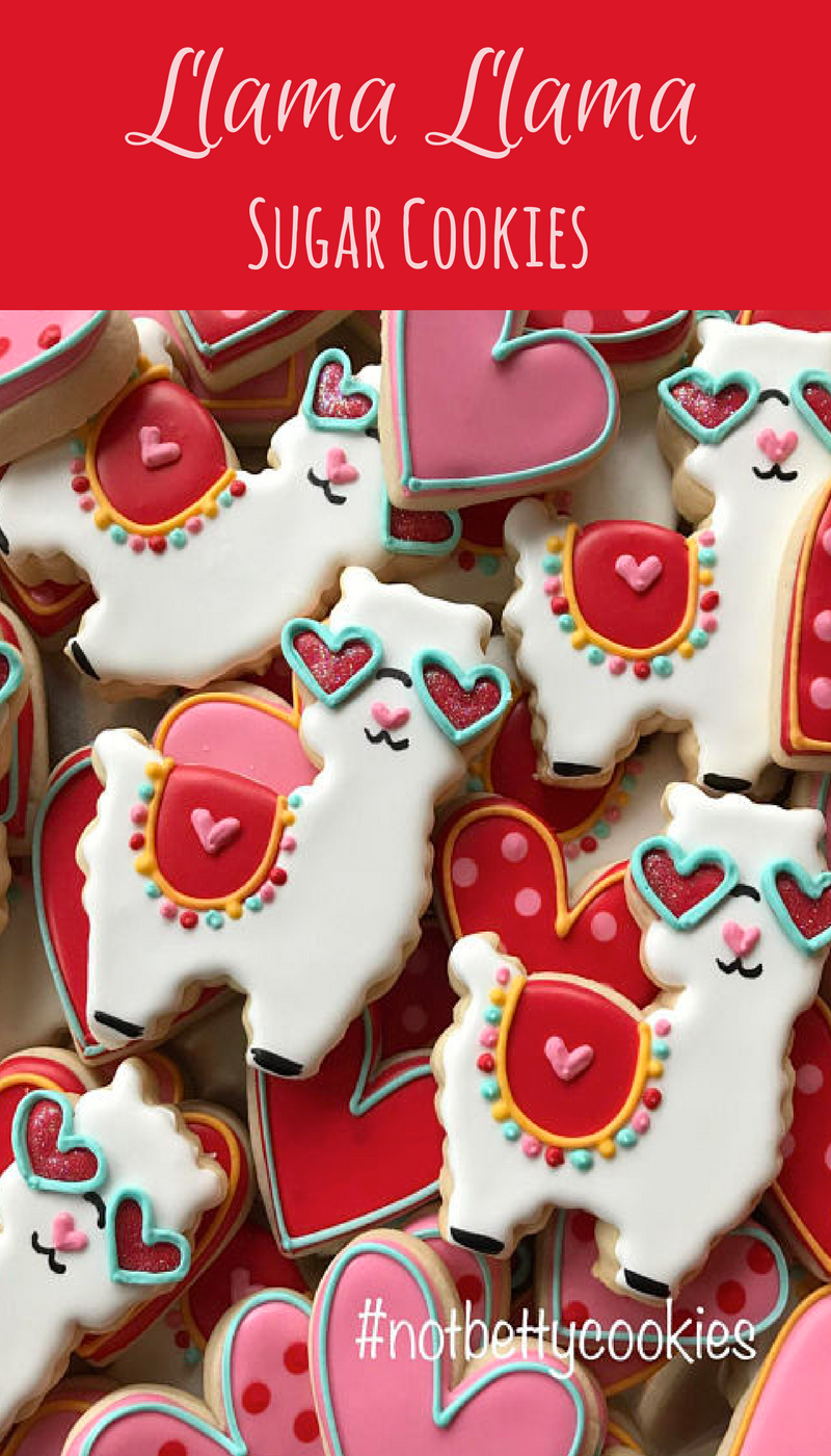 2 Dozen Llama Llama Sugar Cookie Collection Party Cookies