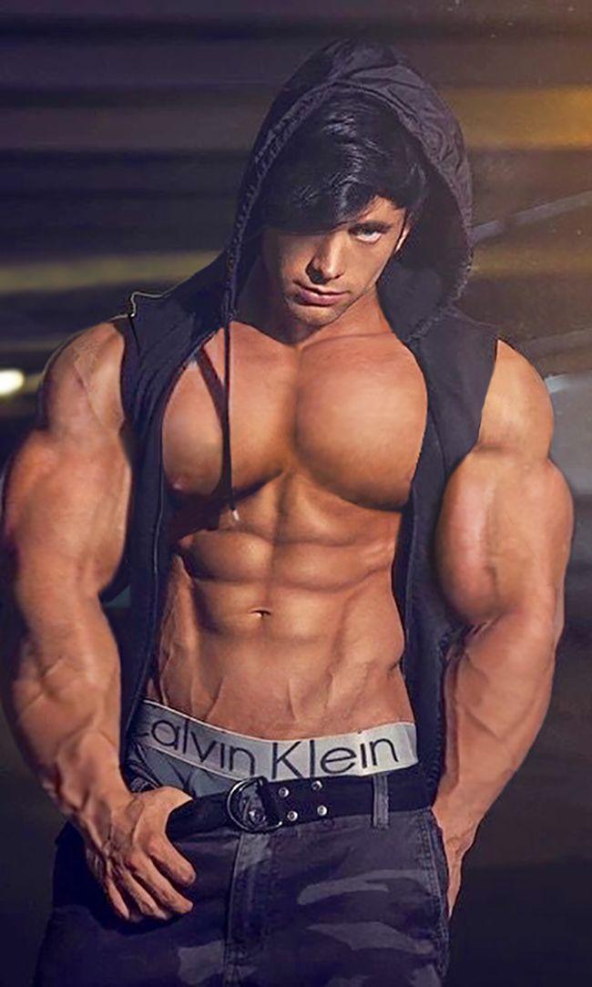 Male muscle gods