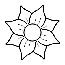 Resultado De Imagen Para Flores Y Hojas Para Colorear Dibujos De